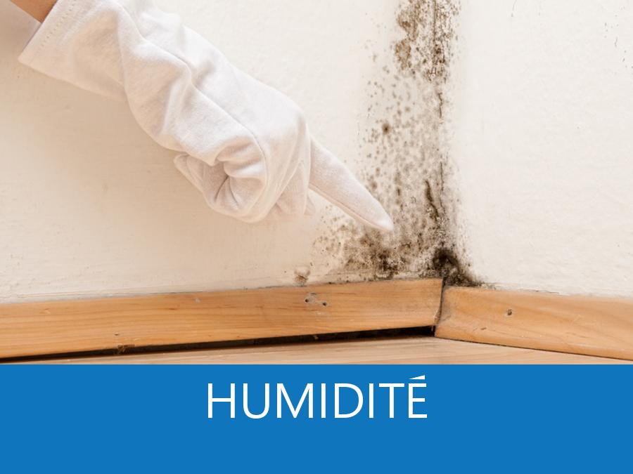 Humidité, problème d'humidité, apparition d'humidité, causes humidités,